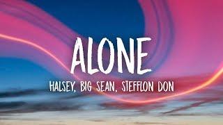 Download Lagu Halsey - Alone (Lyrics) ft. Big Sean, Stefflon Don Gratis STAFABAND