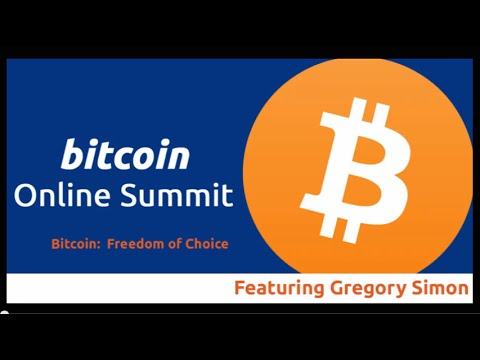 Bitcoin Online Summit - CryptoWerks CEO Gregory Simon