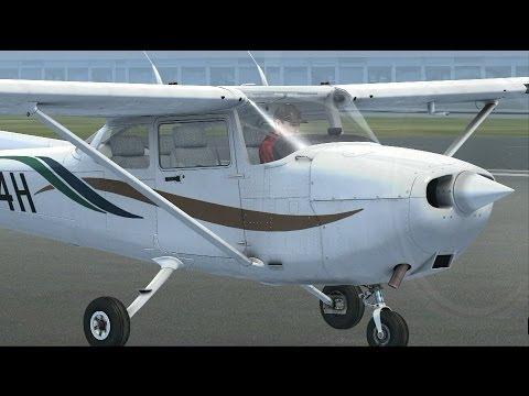 """FSX: контрольный полет на получение сертификата """"Полет по приборам"""""""