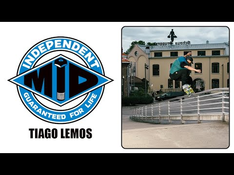 Tiago Lemos Skates Indy MiDs | Independent Trucks