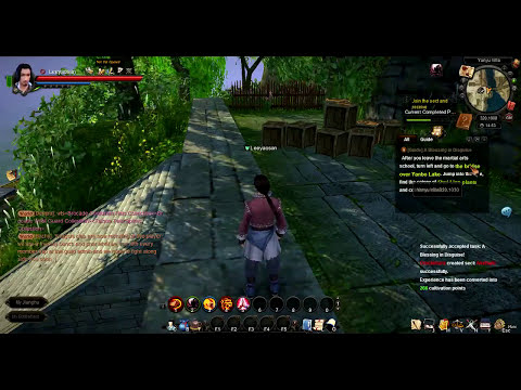Echemos una partidilla | Age of Wulin (Age of Wushu EU) - Beta abierta - Primer vistazo