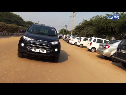 Ford EcoSport 1.5 TDCI Titanium (Diesel) video review by CarToq.com
