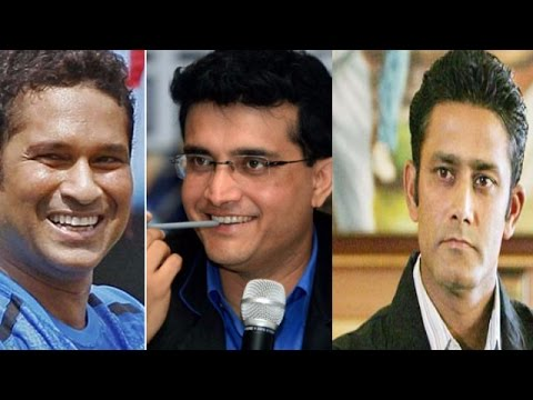 Sourav Ganguly & Sachin Tendulkar Interview Anil Kumble For India's Coach's Job