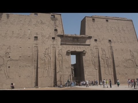 Temple of Edfu at Edfou - Egypt