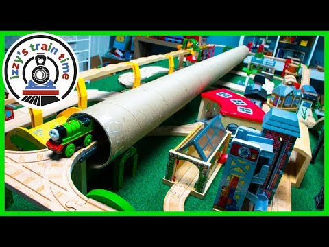 Thomas and Friends MASSIVE TUBE TUNNEL!