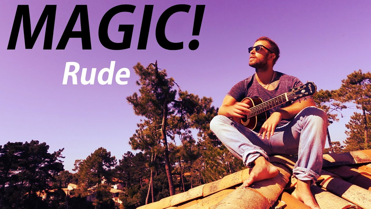 Magic rude official music video akouf n feat mathieu forget