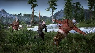 The Witcher 3: Fighting & Combat rocks ! (Ps4 Gameplay)