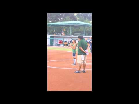 USF Softball National Anthemn