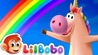 Rainbow Colors - Little BoBo Nursery Rhymes | FlickBox Studios Kids Songs