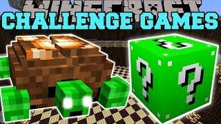 Minecraft: TURTLE BOSS CHALLENGE GAMES - Lucky Block Mod - Modded Mini-Game