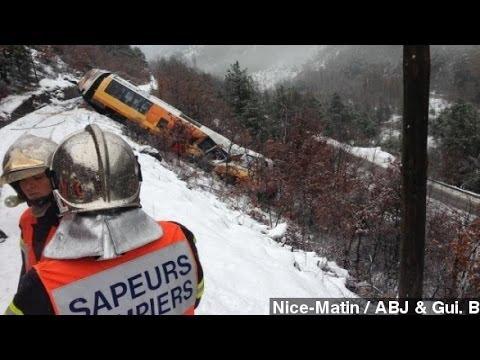 At Least 2 Dead After Train Derailment In France
