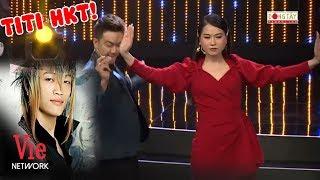 TiTi của HKT lột xác, nhảy trên sân khấu cùng Lâm Vỹ Dạ | Quý Ông Đại Chiến tập 7 2019