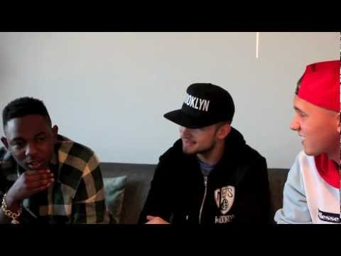 Kendrick Lamar Interview (Talks Unreleased Tracks, J. Cole Project, good kid, m.A.A.d city)