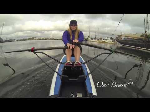 Oar Board™ Stand Up Paddleboard Rower Demonstration