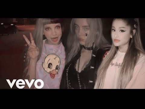 Billie Eilish, Melanie Martinez & Ariana Grande - her bad friend (Official Video)