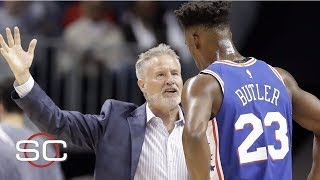 Pressure on Brett Brown to fix Jimmy Butler situation | NBA on ESPN