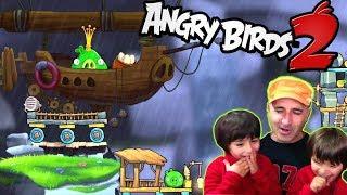 Dani y Evan contra los GORRINETES VERDES!! ANGRY BIRDS 2 App y juegos gratis para niños