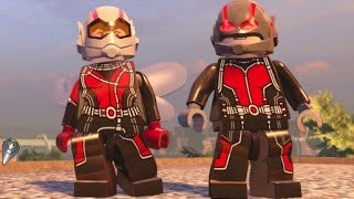 LEGO Marvel's Avengers - All Ant-Man DLC Characters + Free Roam (DLC Showcase)