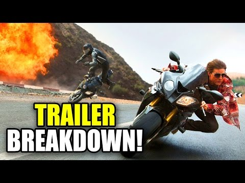 Mission: Impossible Rogue Nation Movie Trailer Breakdown video