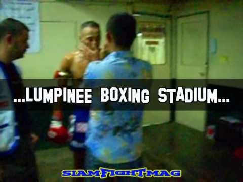 "FRANCE vs THAILANDE 2010 ""LUMPINEE BOXING STADIUM"""