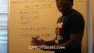 Music Producers - How To Get Contacts