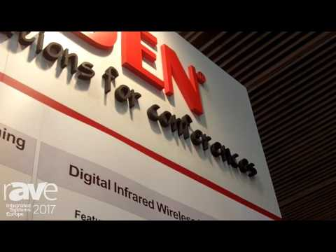 ISE 2017: Taiden Introduces Digital Infrared Wireless Lecturing System