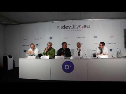IAEA Interactive Lab Debate at the European Development Days 2016