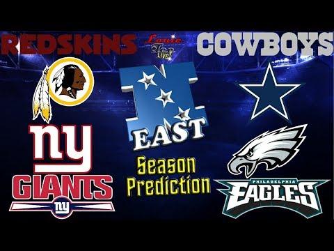 2017 NFL Season: NFC East Season Preview & Predictions #LouieTeeLive