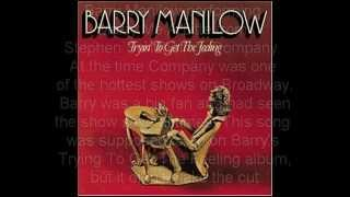 Watch Barry Manilow Marry Me A Little video