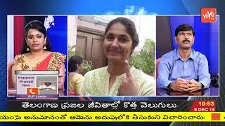BJP Leader Kappara Prasada Rao about Telangana Election Exit Polls 2018  LIVE