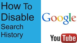How To Disable Google Search History