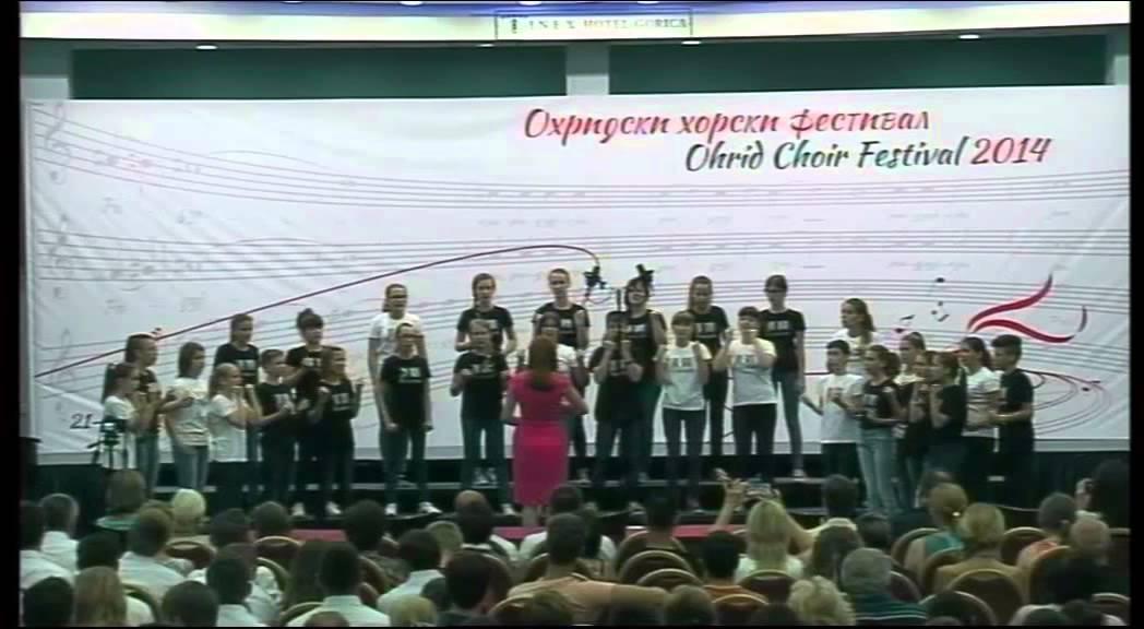 Children's Choir of Josip Runjanin Music School (Ohrid Choir ...
