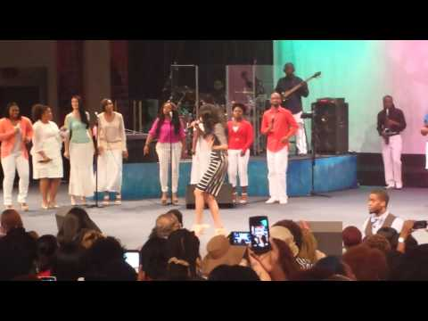 """""""Say Yes"""" by Michelle Williams at Faith Center - Sunrise, FL"""