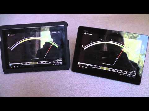 ASUS Transformer Prime - Wifi tests