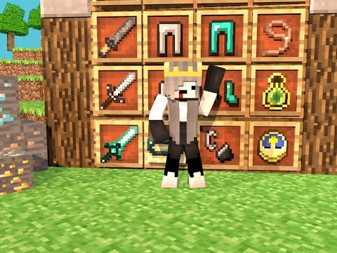 Minecraft- TEXTURA 1.7.x HG + BONUS Nova Skin do canal