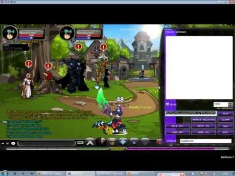 AQW Tutorial: Como usar o Hacker Dark Mystic !