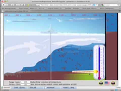 Simulazione di avanzamento e regressione di una piattaforma di ghiaccio (ANDRILL project)