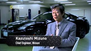 Мегазаводы  National Geographic HD  Автомобиль Ниссан Nissan GTR