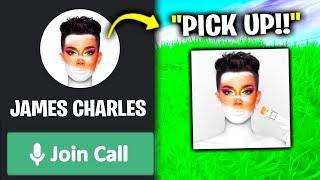 I Found FAKE James Charles In Fortnite