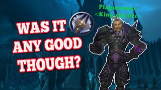 DEATH KNIGHT in WotLK: Was it Any Good Though?