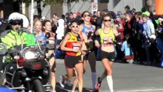 Olympic Trials Marathon in Houston: 2012 women's race footage with Desiree Davila highlights