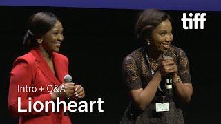 LIONHEART Cast and Crew Q&A | TIFF 2018