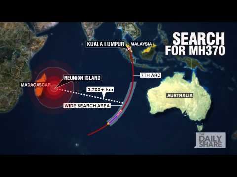 The search for Malaysia flight MH370
