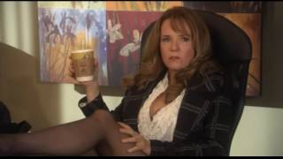 Lea Thompson Wearing Pantyhose And High Heels