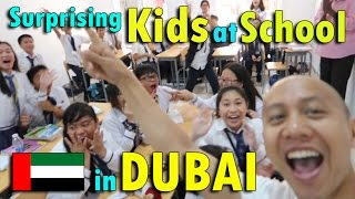SURPRISING KIDS AT SCHOOL IN DUBAI   April 28th, 2017   Vlog #97