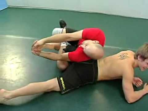 BJJ Black Belt Sambo Leg Lock Image 1