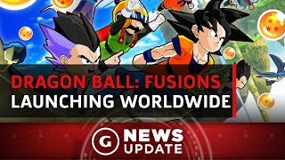 Dragon Ball: Fusions Launching on 3DS Worldwide - GS News Update