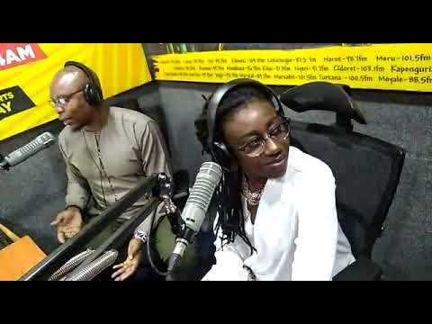 DEE (Presenter 001) says bye to Milele Drive and welcomes Wilbroda