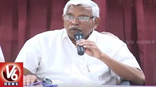 TJS Chief Kodandaram Press Meet On TS Assembly Polls | Hyderabad