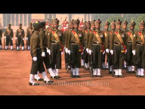 Protecting the President of India - PBG's change of guard at the Rashtrapati Bhavan